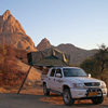 Camping 4x4 vehicle Namibia