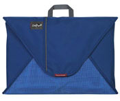 Blue colored Eagle Creek packing folder