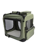 Soft travel crate for dogs
