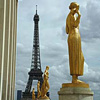 Eiffel tower Paris tourist attractions