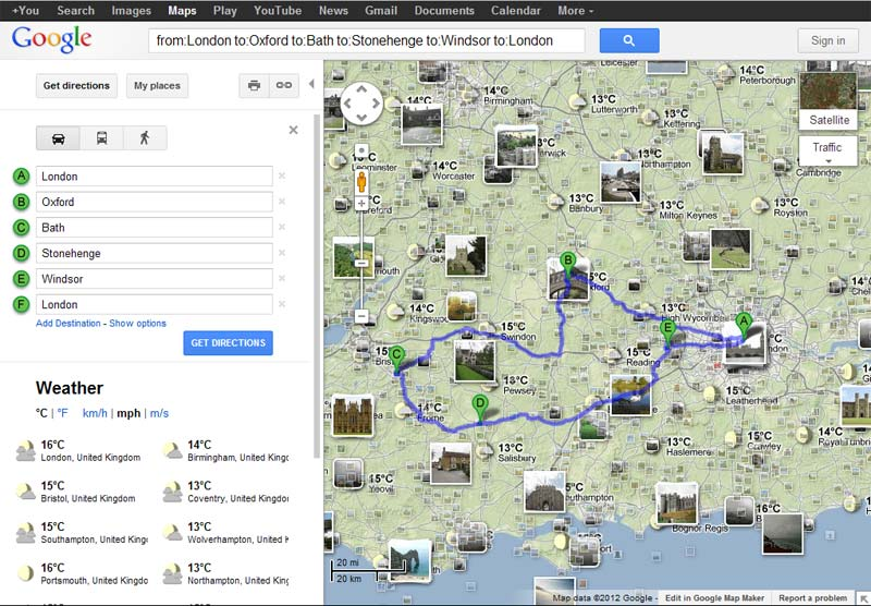 Google Maps Instructions Travel Tips – Map Your Travel Route