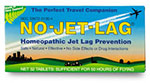 Box of No-Jet Lag homeopathic product