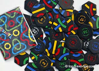 Tantrix family travel game